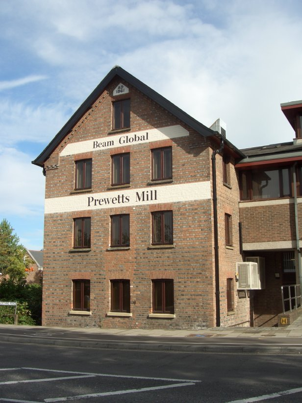 Beam Global's Prewett's Mill front elevation