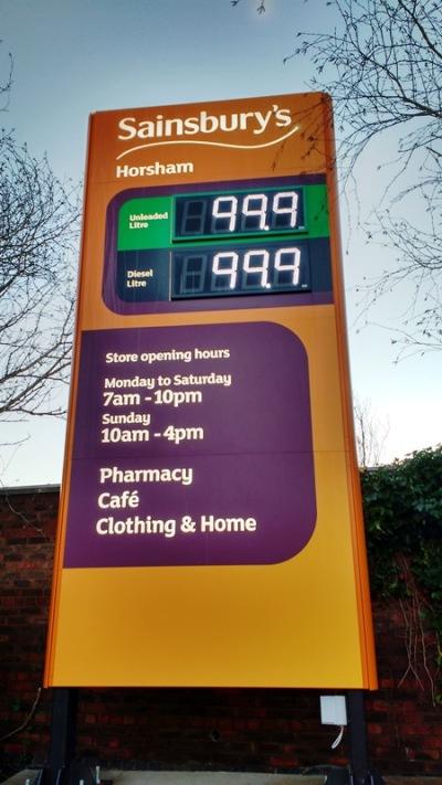 Sainsbury's Fuel