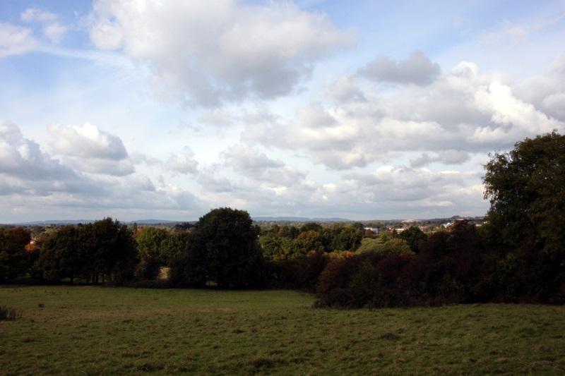 Moody Horsham skies